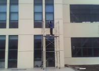 科林环保装备外墙玻璃清洗 (1)
